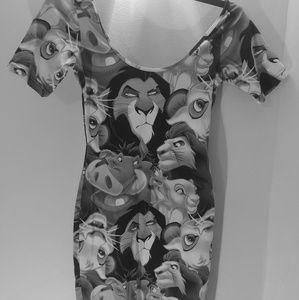 Lion King themed dress